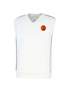 Cricket Half Sleeve Sweater White